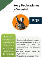 De los Actos y Declaraciones de Voluntad.pptx