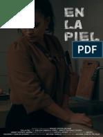 """Carpeta de producción para el cortometraje """"En la piel"""""""