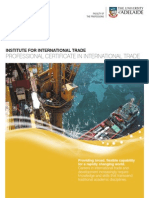 Professional Certificate in International Trade