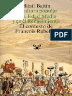 La cultura popular en la Edad Media y el Renacimiento.epub