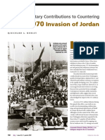 U.S. Joint Military Contributions to Countering Syria's 1970 Invasion of Jordan (2009)