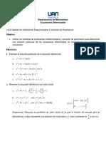TALLER 07 - COEFICIENTES INDETERMINADOS, VARIACION DE PARAMETROS.pdf