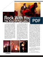 HW King of Pop Latin Style Event