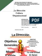 diapositivas de la Cultura Organizacional