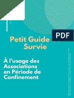 Petit Guide de Survie à l'usage des associations en période de confinement