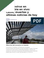 Coronavirus (COVID - 2019) en Colombia