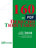 Revista de Derecho Tributario 160 (octubre-noviembre-diciembre 2018)