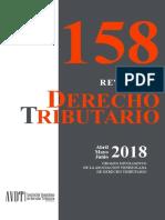 Revista de Derecho Tributario 158 (abril-mayo-junio)