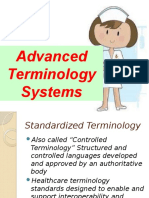 Advanced Terminologies