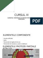 refacut CURSUL 3 ELEMENTELE PROTEZELOR PARTIALE.ppt