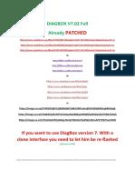 Update DiagBox 7.65.doc