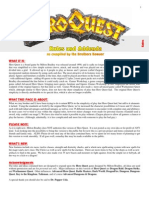 Hero Quest Rules