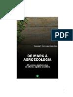 De Marx à agroecologia a transição sociotécnica na reforma agrária brasileira