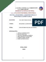 FUNCION BIOLOGIA DE LAS ENZIMAS
