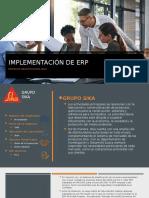 IMPLEMENTACIÓN DE ERP