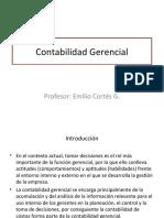 Introducción a la Contabilidad Gerencial