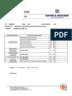 Pos. 1.36 - Máquina Cargadora de Bolsas HB