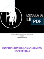 INSPIRACION DE LAS SAGRADAS ESCRITURAS.pptx