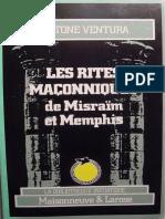 Gastone Ventura les rites égyptiens de Memphis et de Misraim.pdf