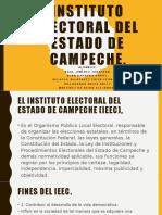 Instituto electoral del estado de Campeche.pptx