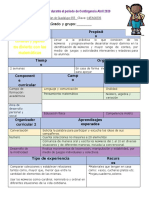 Propuesta de Actividades a realizar durante el periodo de Contingencia Abril 2020-AURORA