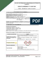 FISPQ de produtos químicos