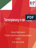 PM9-HS2015-Terminplanung (Gastreferat)