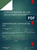 CONCENTRACIÓN DE LAS SOLUCIONES ACUOSAS 2.pptx