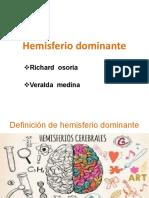 HEMISFERIO DOMINANTE.