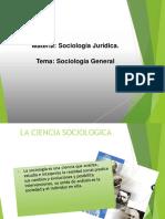 Sociologia Juridica Tema 1 2019