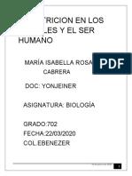 T. BIOLOGIA