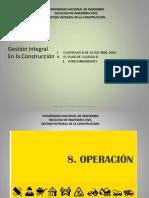 6. Gestión Integral En La Construcción - Cláusulas 8 De La ISO 9001 - 2015 Y El Plan De Calidad
