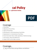 23. Fiscal Policy