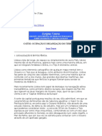 O SÍTIO OCUPAÇÃO E ORGANIZAÇÃO DO TERRITÓRIO scripta vetera