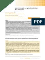 Uso de tecnologia da informação na agricultura familiar