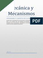 Carpeta de mecánica y mecanismos año 2013