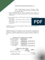 Contabilidad para Sociedades Anónimas (Presentación)