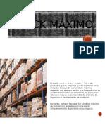 Stock Maximo