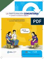 Participación comunitaria frente al Coronavirus (COVID-19)