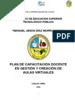 PLAN CAPACITACIÓN DOCENTE AULAS VIRTUALES (1)