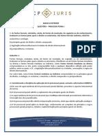 PROCESSO PENAL I - QUESTOES - Comentadas