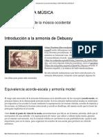 Introducción a la armonía de Debussy _ HISTORIA DE LA MÚSICA