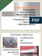 Corrosion Selectiva -  Exposición