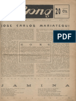 Gong -Mariategui 1930