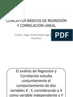 CLASE CONCEPTOS BÁSICOS DE REGRESIÓN Y CORRELACIÓN LINEAL.pptx