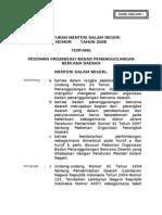 Permendagri BPBD