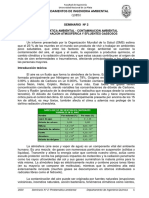 SEMINARIO 2 - PROBLEMATICA AMBIENTAL - CONTAMINACION DEL AIRE