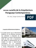 Arquitectura Paraguaya Contemporánea