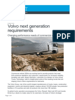 Volvo next generation requirements