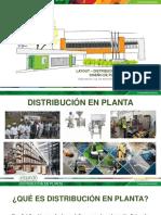Distribución en Planta - Diseño de Plantas Sesión Virtual 13 abril 2020